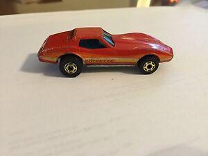 Vintage Hot Wheels 1980 Corvette Stingray Made In Hong