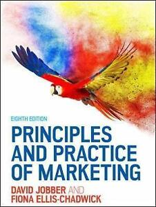 Principles and practice of marketing by fiona ellis chadwick david stock photo fandeluxe Image collections