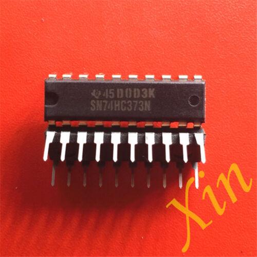 10PCS SN74HC373N three state phase eight D latch logic lock pin //DIP-20