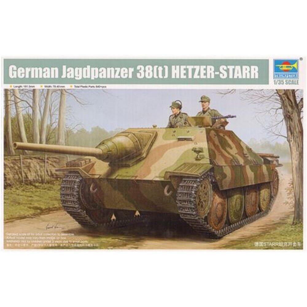 Trumpeter 1 35 - Jagdpanzer 38(t) Starr - Model Kit 135 38t Scale Tank Hetzer