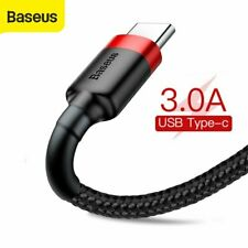 Baseus USB to Type C Charger Cable Fast Charging Lead Data Cord for Samsung LG