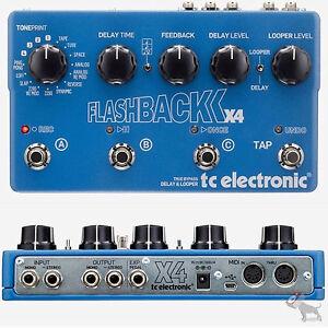 TC-Electronic-Flashback-X4-Flash-Back-Stereo-Echo-Delay-Looper-Guitar-Pedal