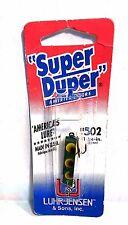 """Luhr-Jensen Super Duper Frog Size 502 length 1- 1/4 """""""