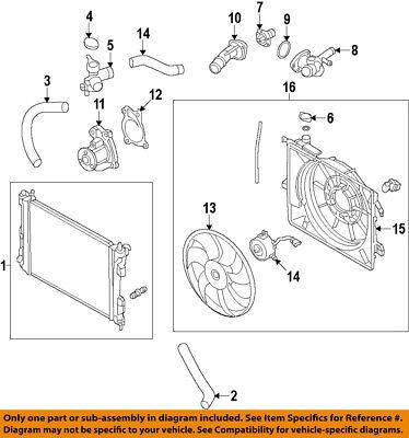 HYUNDAI OEM 15-17 Accent Radiator-Filler Cap 253301R000