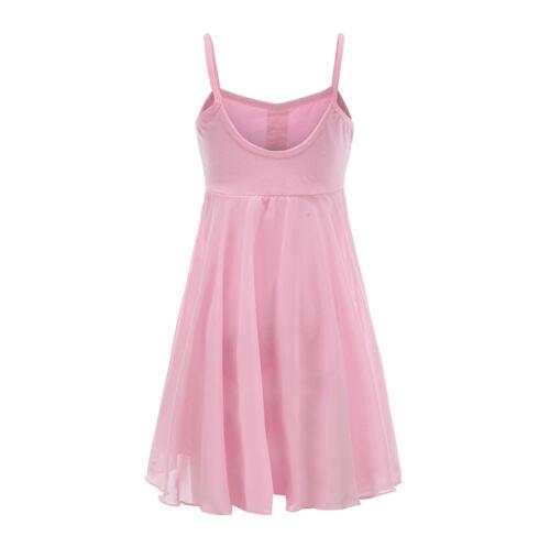 Vestito Tutù Body Lezione Danza Saggio Bambina Girl Ballet Tutu Dress DANC121
