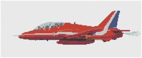 Red Arrows Singleton Cross Stitch Kit by Florashell