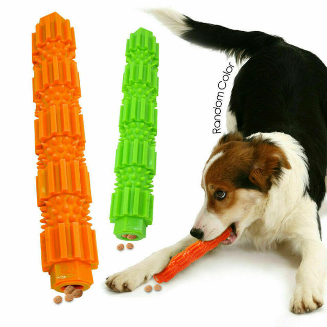 Interactive Dog Molar Stick Pet Teeth Cleaning Rubber Chew Toy Bite Toys Chewers