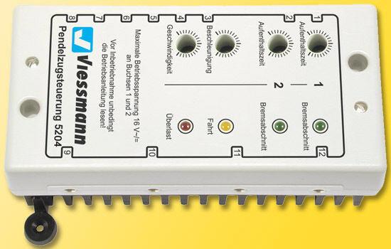 Viessmann 5204 Pendelzugsteuerung für Wechselstrombahnen Neu  | Online-Exportgeschäft