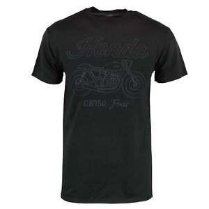 Herren Retro Honda Cb 750 Vier Vintage Motorrad T Shirt Schwarz Ebay