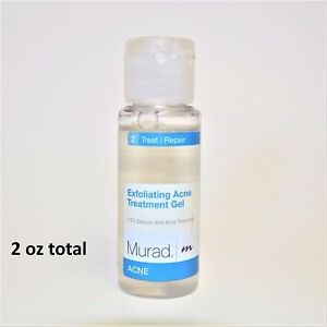 Image Is Loading Murad Exfoliating Acne Treatment Gel 1 Fl Oz