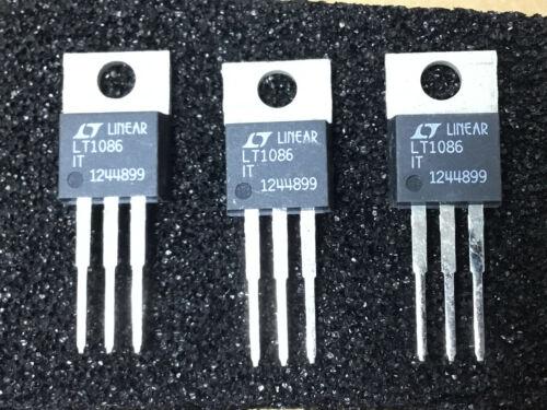 3 PC LINEAR TECH   LT1086IT    LDO Voltage Regulators    NSN# 5962-01-391-022