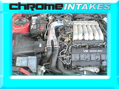RED 1991-1999//91-99 MITSUBISHI 3000GT GTO//DODGE STEALTH N//T V6 AIR INTAKE KIT