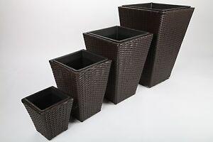 4x-Maceta-Tiesto-Recipiente-Para-Plantas-Maceta-Poliratan-H67-25cm