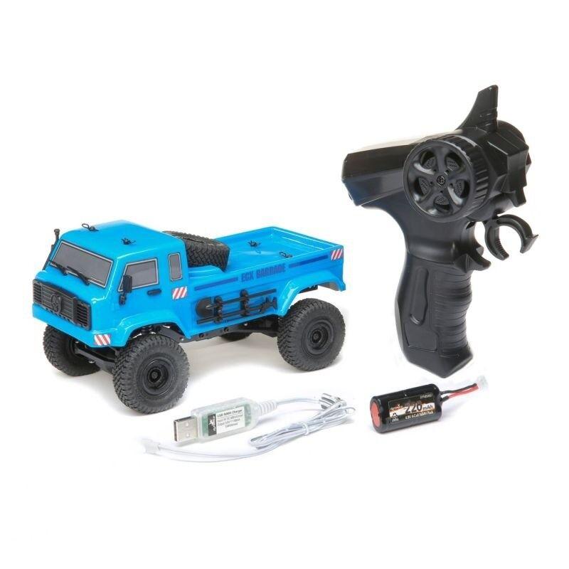 ECX Barrage UV  4wd scale Crawler 1 24 2,4ghz 100% RTR, Blu-ecx00019t1  alta qualità
