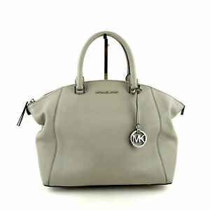 b664fadfdc75 Michael Kors Riley Large Pebble Leather Satchel Purse   Handbag  368 ...