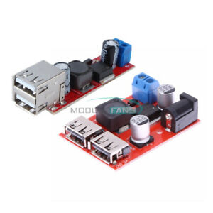 9-12-24-36V-3A-5V-Dual-USB-Step-down-Converter-Buck-Power-Supply-Charger-Module