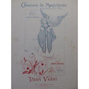 Ausdauernd Vidal Paul Lied Der Majoran Chant Piano 1891 Partitur Sheet Music Score Ideales Geschenk FüR Alle Gelegenheiten Musikinstrumente