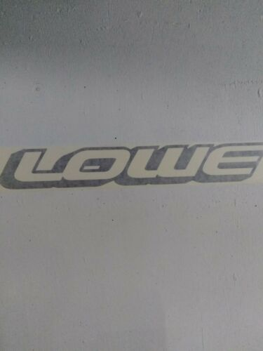 black 2/>Lowe Boat Vinyl Boat decals FREE SHIPPING x12