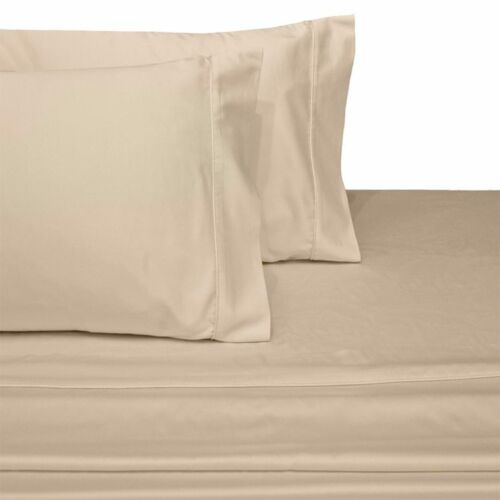Luxury 100-Percent Long Staple Cotton Bed Sheets Set with 300 Thread Count