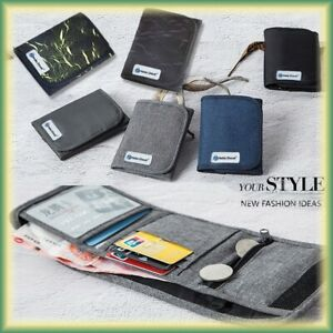 Hot Slim Water-proof Front Pocket Wallet ID Window Card Case With RFID Blocking