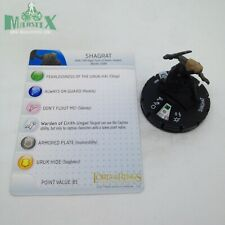 #007 Shagrat Return of the King HeroClix Lord of the Rings
