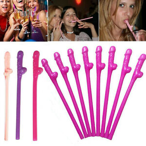 10pcs-Lot-Penis-Pecker-Willy-Dicky-Drink-Straws-Fun-Gags-Hens-Night-Party-Straws