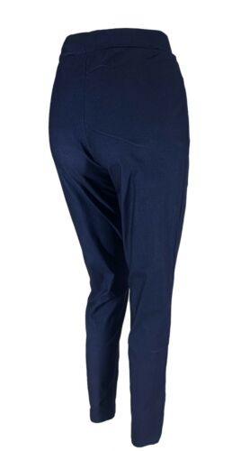 Women Pull On Elasticated Trouser Pants Plus Size Trousers Cherry Berry 16-26