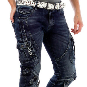 CIPO-amp-BAXX-WESTPORT-MENS-JEANS-DENIM-SLIM-FIT-ALL-SIZES
