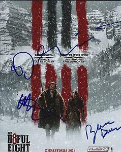 Bruce Dern- Walton Goggins & Demian Bichir Signé Hateful Eight 8x10 Photo ywtaj7T3-09101938-246113644