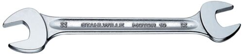Stahlwille '10 Series' Double Open Ended Metric Spanner 19 x 22mm
