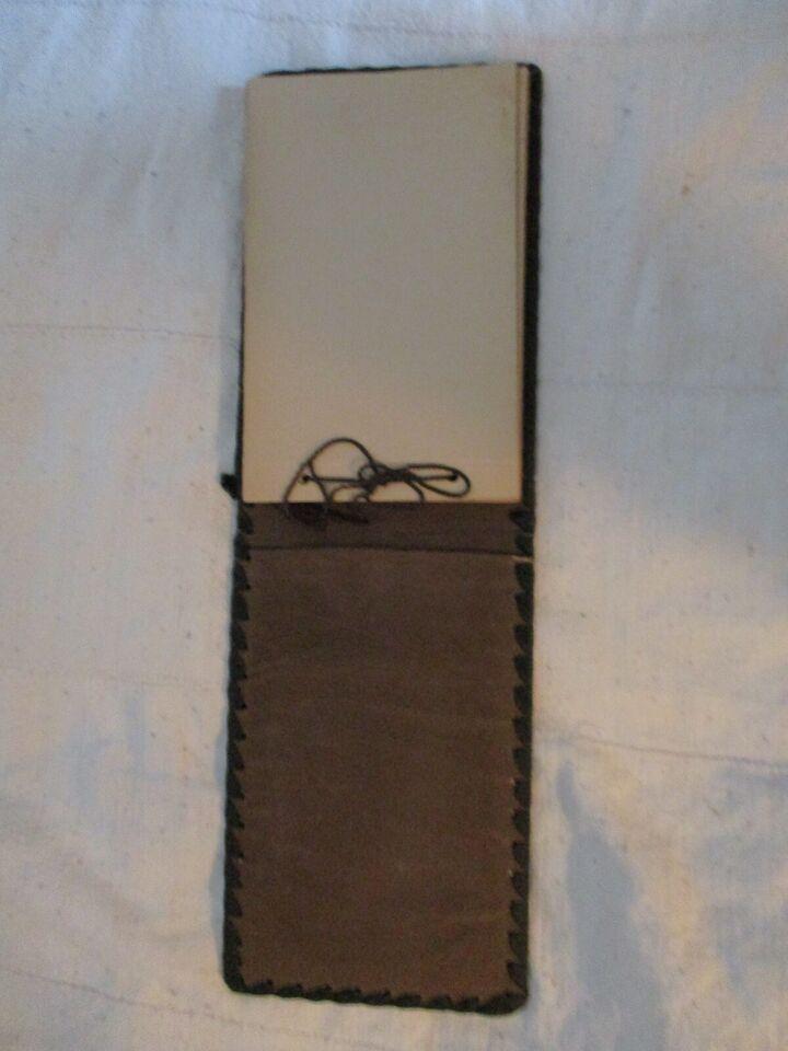 Fotomappe, Venetiansk læder, indbundet