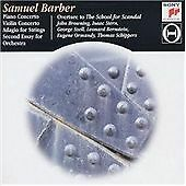 Barber: Piano Concerto / Violin Concerto / Adagio for Strings / Second Essay for