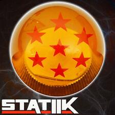RARE DRAGONBALL Z DRAGON BALL STARS AMBER SHIFT KNOB 5 SPEED UN2 RDR K27