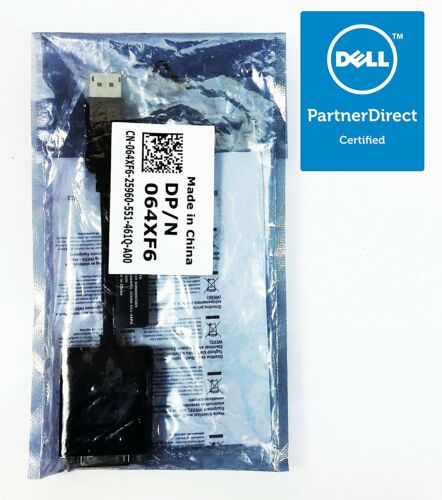 Dell Display Port To DVI Video Dongle Adapter Cable DANARBC084 KKMYD