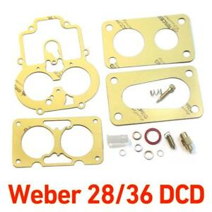 Weber-28-36-DCD-service-gasket-kit-repair-full-Ford-CAPRI-1600-GT-Cortina-Anglia