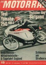 M6515 + Test YAMAHA YDS 3 250 ccm Supersport + Das MOTORRAD Nr. 15 vom 17.7.1965