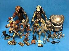 * Lot of 8 1990's Kenner Predator Action Figures & Micro Machines