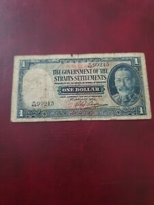 The-goverment-of-the-straits-settlements-one-dollar-bank-note