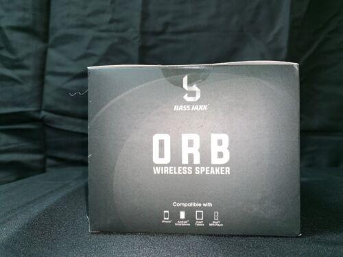 Bass Jaxx Orb Wireless Bluetooth v4.2 Speaker Color Changing LED Blue Black Body