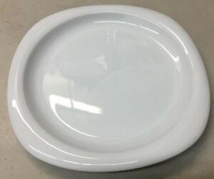 1 Plat à Salade Rosenthal Suomi Blanc Studio Line Allemagne 17000 Carré Rond Haute RéSilience