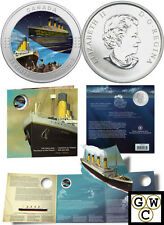 2012 'RMS Titanic' Colorized 25-Cent Coin (12976)
