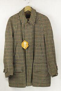 Mens Dn2rl Rare Vintage Coat Burberry Jacket Excellent Large Check Nova 50 Wool Of77wx