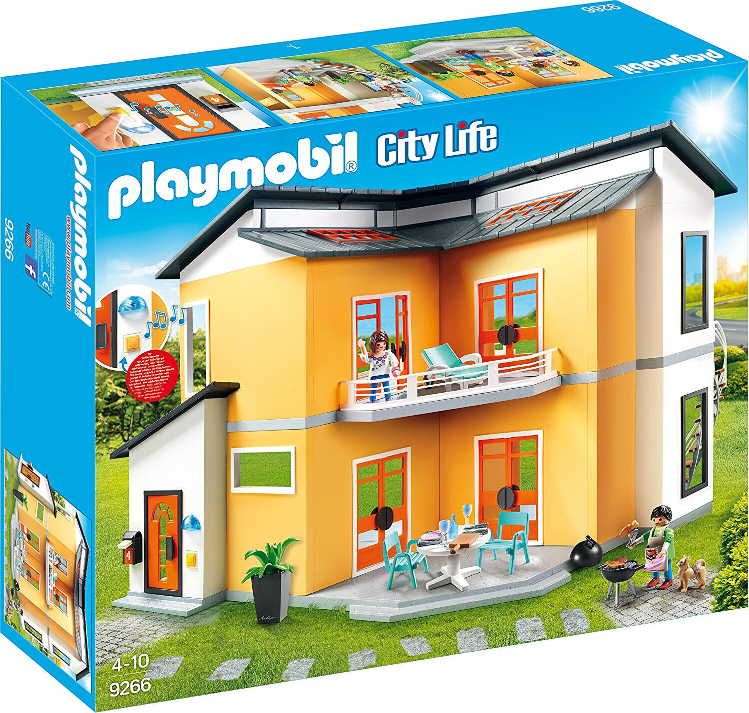 PLAYMOBIL Modern House Building Set Toys Games New
