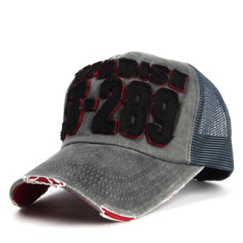 Paradise 56-289 Patch Mesh Trucker Cap Baseball Hat Snapback