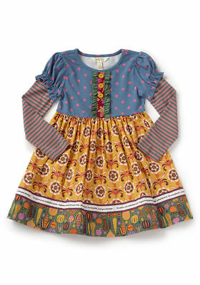 Matilda Jane Wild Heart Dress Girl Size 8 Choose Your Own Path New In Bag