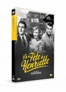 The-Party-IN-Henrietta-Robin-Ginger-Neff-Auclair-Carette-DVD-New-Blister