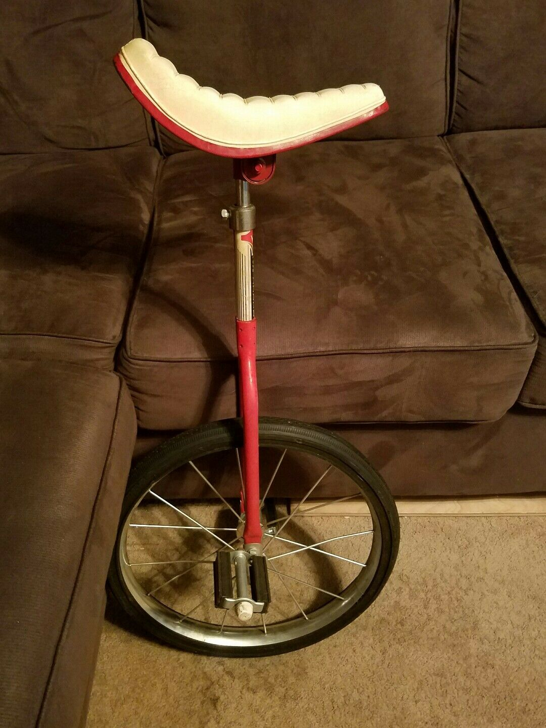 Vintage Stelber Unicycle Made  in the USA Nice Condition  wholesape cheap