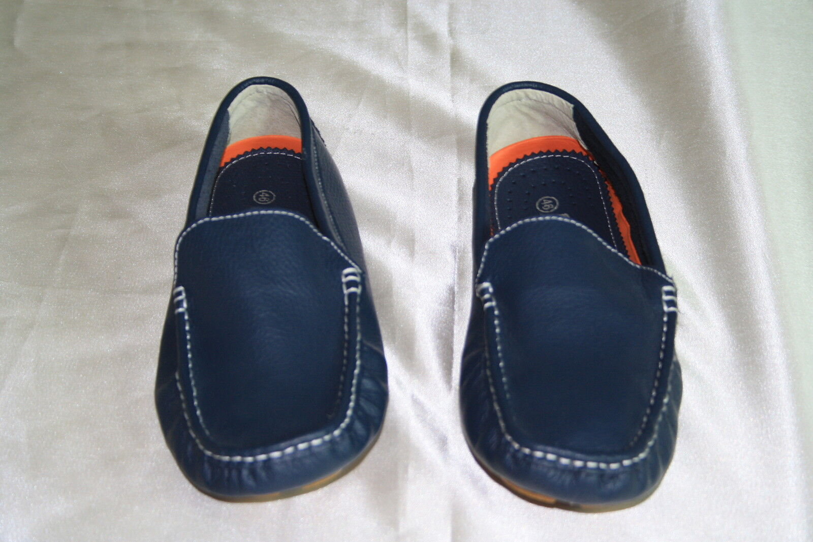 NEW MEN'S LEE COOPER blueE LEATHER DRIVING SHOES SIZE  US -10