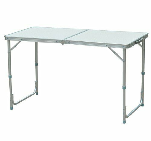 Outdoor Portable  Aluminum Camping Picnic Fold RV Dining Table Lantern Tent Stake  online sales