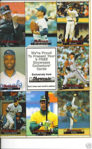 Ryan,Henderson,Clark-Showcase Magazine #2-Dec.l991